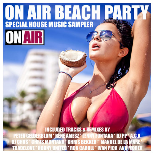 On Air Beach Party (Special House Music Sampler)